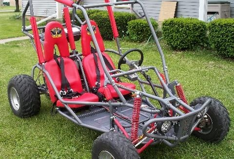 150cc Crossfire Go Cart(2 seater)