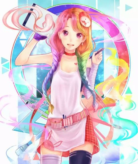 17 Best Images About Anime Girls On Pinterest