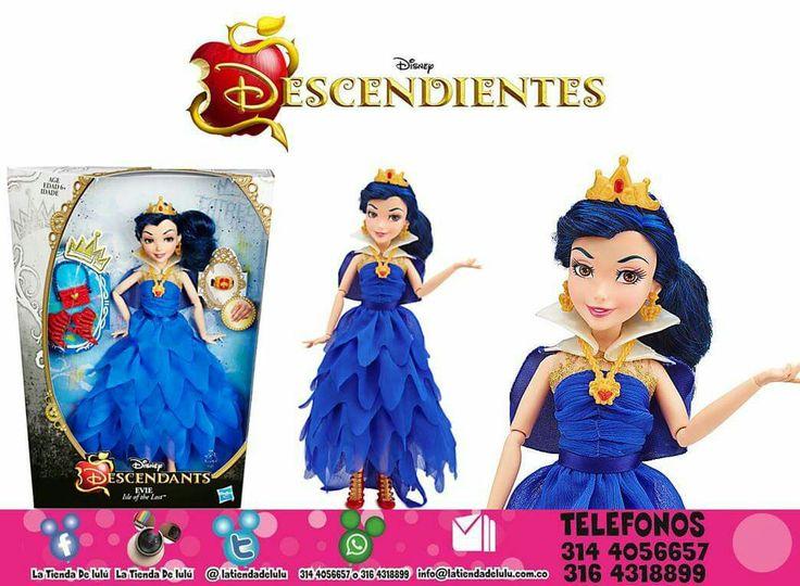 Muñeca Evie Traje de Coronación, Los Descendientes Disney.