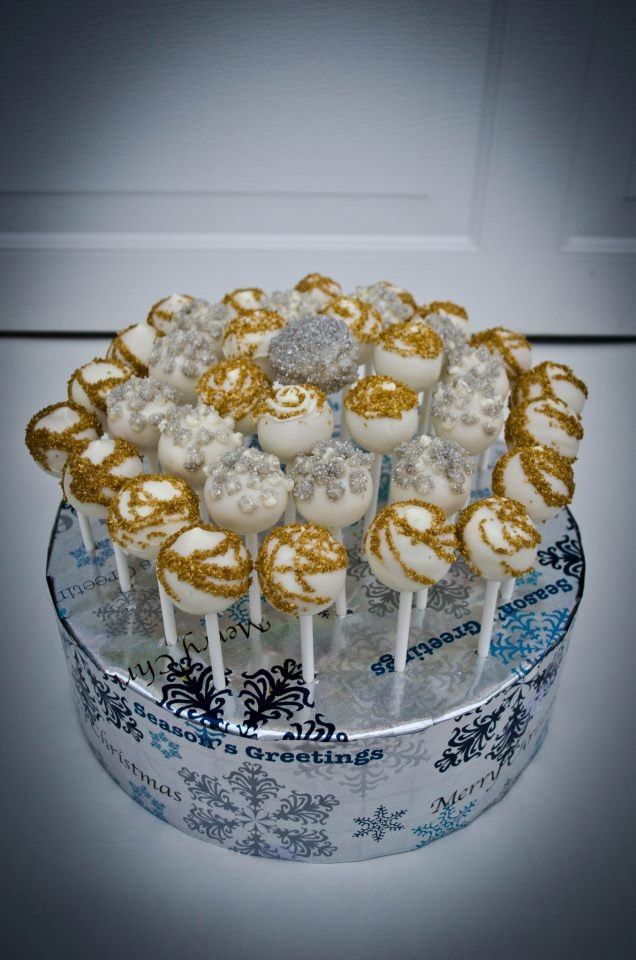 New Years Eve Cake Pops
