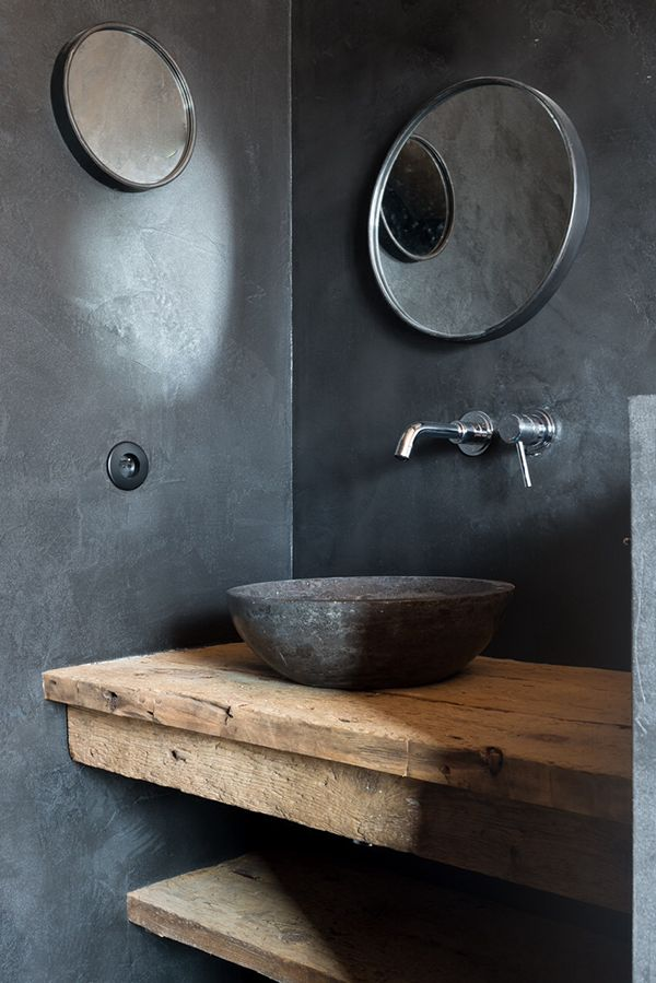 rustic modern | bathroom