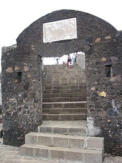 It is known as the Bandra Fort.It is located at Land's End in #Bandra. It was built by the Portuguese in 1640 as a watchtower overlooking Mahim Bay.  #travel #mumbai