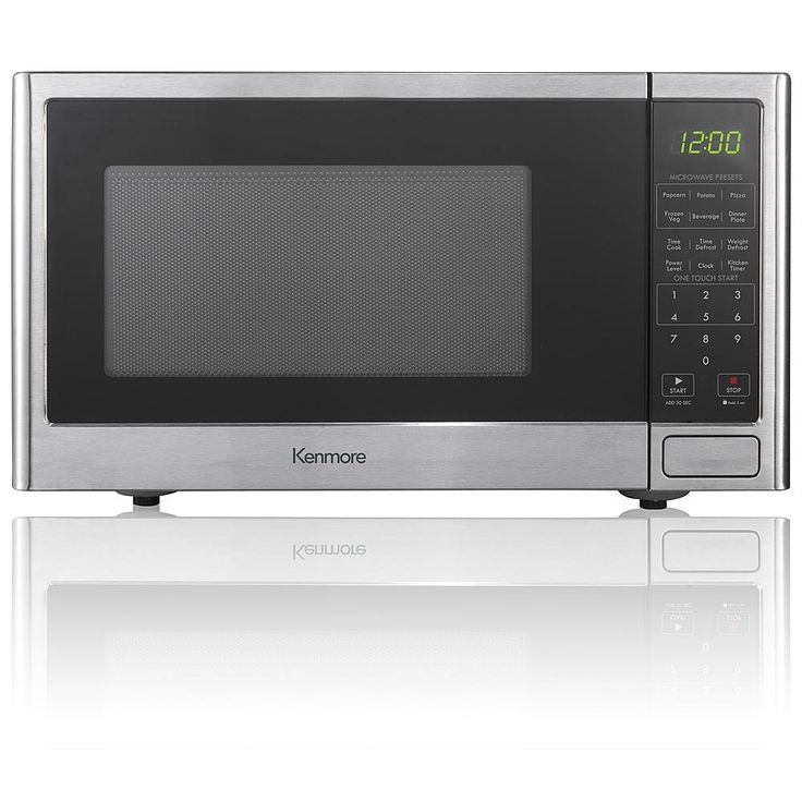 Countertop Microwave Oven Stainless Steel