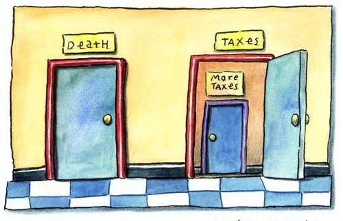 """""""The only thing certain in life is death and taxes"""" but, we can save you money on your taxes!! Give us a call 403.999.7455 #YYC #Calgary #Taxes #YYCBusiness"""