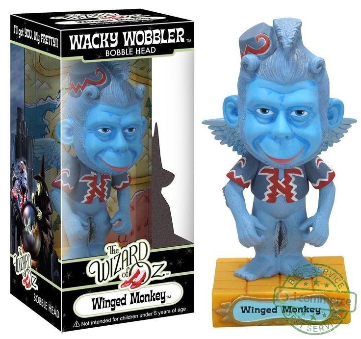 FUNKO WACKY WOBBLER WIZARD OF OZ WINGED MONKEY BOBBLE HEAD FIGURES NEW  | eBay