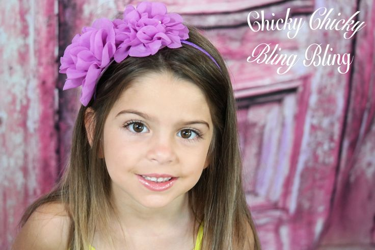 The fun and fairy inspired headbands feature a standard metal headband wrapped with ribbon and topped with full fabric flowers. Perfect for adding a splash of color and fairy dust to any outfit. Avail