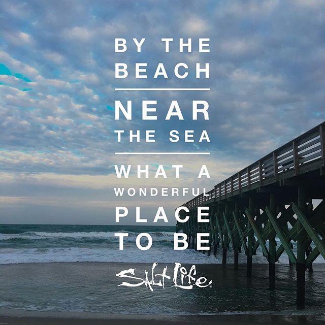By the beach, near the sea, what a wonderful place to be! #SaltLife By the beach, near the sea, what a wonderful place to be! <a class=