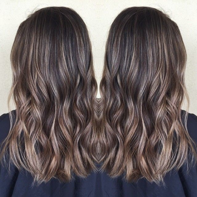 I've had some awesome brunettes lately! She came in with super long dark hair…