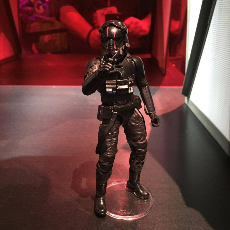 First order special ops tie fighter pilot star war collecting