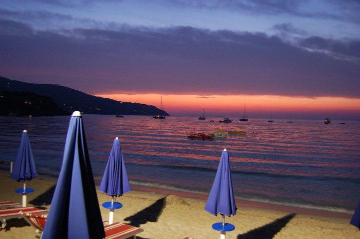 Sunset in Procchio