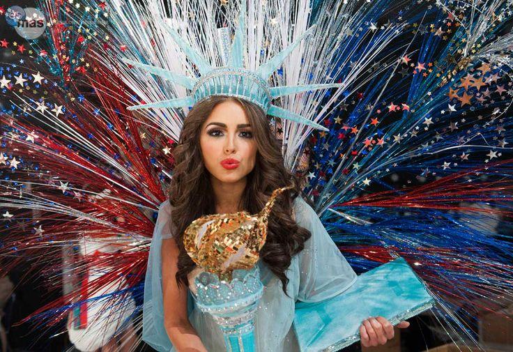 Miss USA costume close up Miss universe #missusa