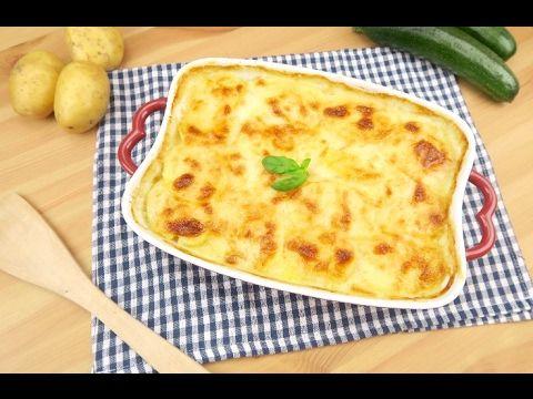 Parmigiana di patate e zucchine: leggera, originale e saporita!