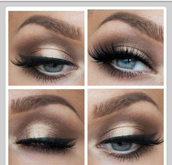 Makeup for mint dress?
