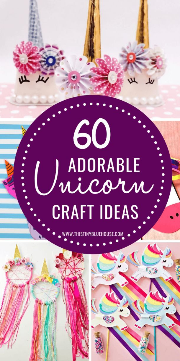 60 Gorgeous Easy Unicorn Crafts For Kids Easy Craft Projects