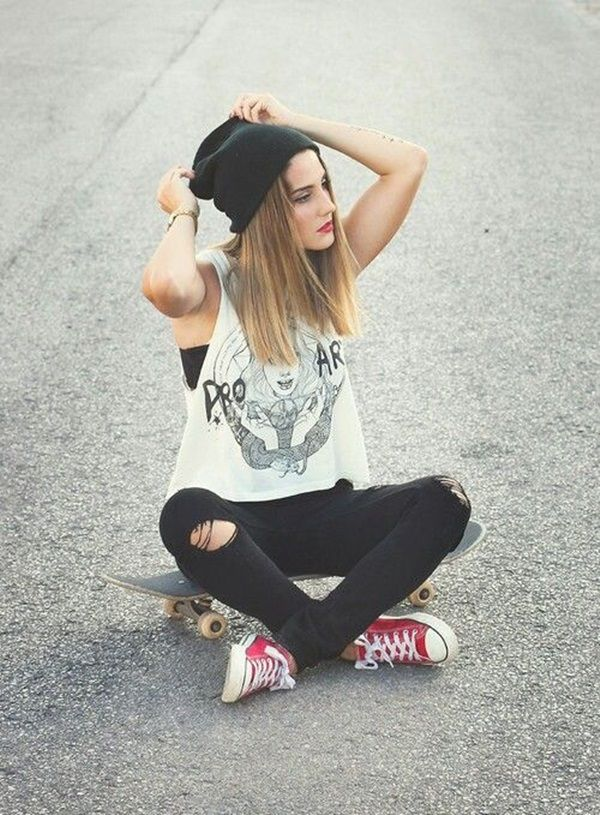 50 Cool Looking Grunge style Outfits for Girls