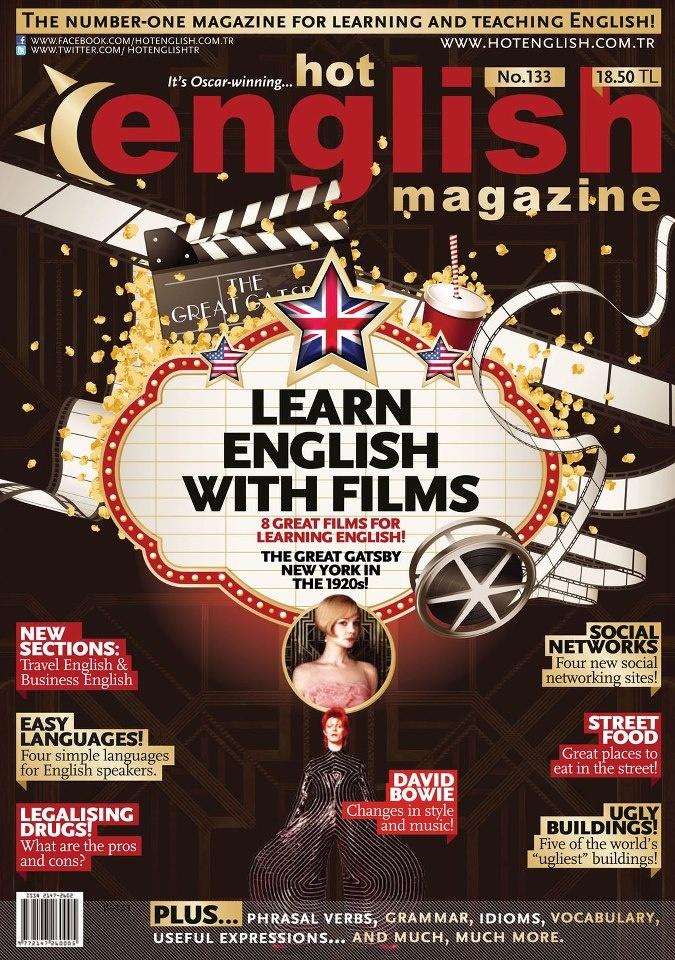 Hot English Dergisi, Nisan sayısı yayında! Hemen okumak için: http://www.dijimecmua.com/hot-english/