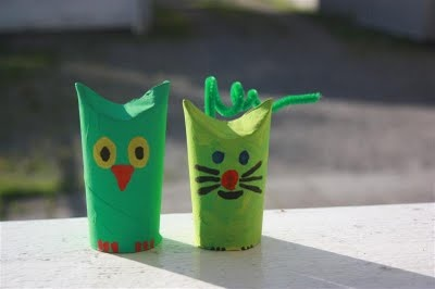 Fun little TP tube animals.