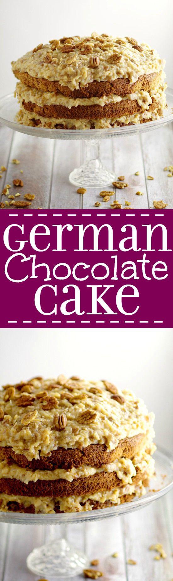 25+ best German chocolate frosting ideas on Pinterest | German ...