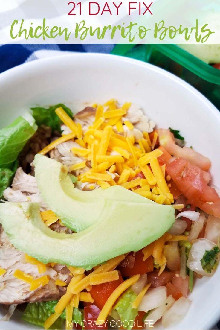 Dieses 21 Tage Fix Burrito Bowl Rezept ist perfekt für die Zubereitung von Mahlzeiten! Kochen Sie diese Inst …   – 21 days