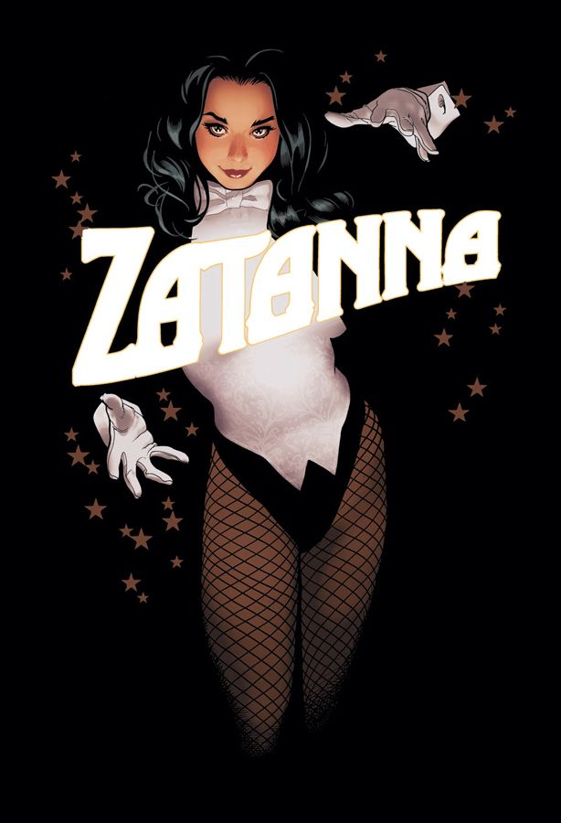 Zatanna #15 | Cover by Adam Hughes