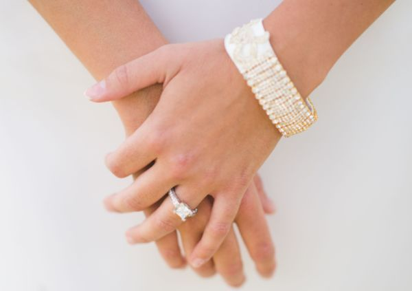 5 Ways to Keep Your Engagement Ring Sparkling   Now that you're sporting that gorgeous ring on your finger, you'll want to keep it as brilliant as the day you got engaged. You'll need to treat your precious piece of jewelry with a gentle touch since the metals, brackets, and setting are far more delicate than the hardy diamond at the center. With these 5 cleaning tips, your engagement ring will stay beautiful for years to come —and can even be handed down to future generations.