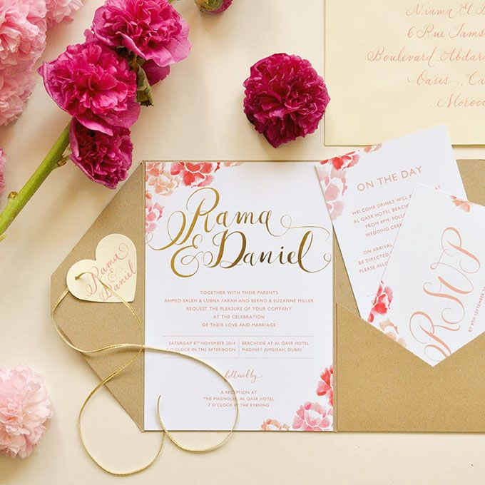 17 Best Ideas About Romantic Wedding Invitations On