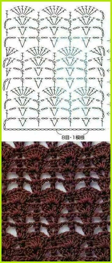 Mejores 59 imágenes de crochet en Pinterest | Patrones de ganchillo ...