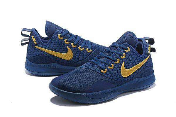 timeless design 856c7 0ce70 Nike Lebron Witness 3 Philippines Coastal Blue Metallic Gold Shoes-4