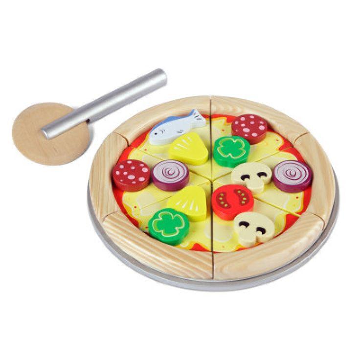 Mmmmmm, daar krijg je toch trek van. En je mag zoveel stukken eten als je zelf wil. En je kan ook nog je eigen beleg kiezen. Lekker toch, deze pizza van tidlo, helemaal zelf bereid door jouw eigen keukenprins of keukenprinsesje..