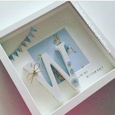peter rabbit nursery personalised frame
