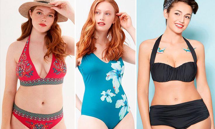 Costumi per donne curvy 2017: tutte le novità - https://www.beautydea.it/costumi-donne-curvy/ - Bikini e costumi interi per donne dalle curve prosperose. I modelli più belli dell'estate da sfoggiare in spiaggia che valorizzano le curve e modellano il punto vita!