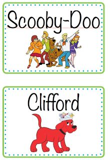 ~Zeek's Zoo~: Book Box Labels