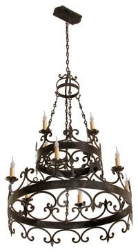 Hand Made Iron Chandelier Designs Mediterranean Chandeliers San Go Hacienda Lights And