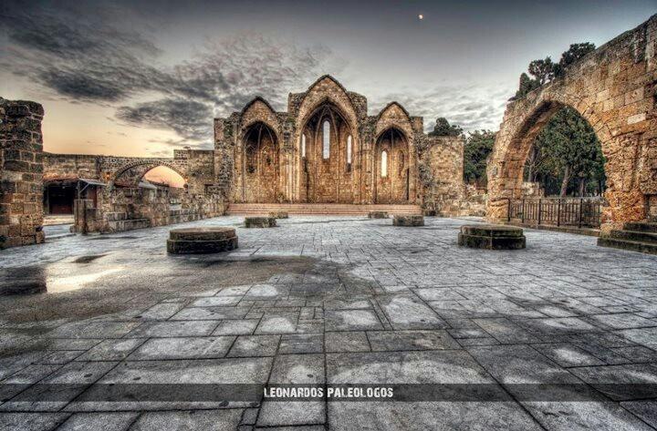 Panagia tou Bourgou Rhodes Old Town