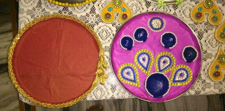 pooja thali deacoration
