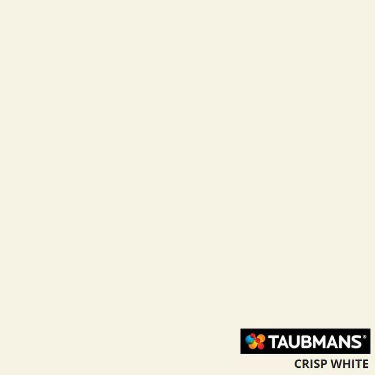 #Taubmanscolour #crispwhite