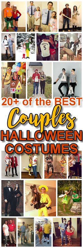 DIY Couples Halloween Costume Ideas - Do it Yourself Homemade Couples Costume Ideas that are SO FUN to make and are sure to be a big hit at Halloween Parties - You are so going to win the Costume Contest! #halloween #couplescostumes #diycostumes #halloweencostumes