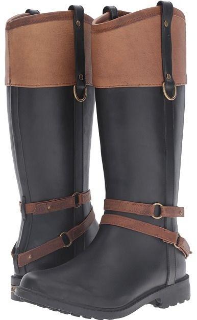 that's one stylish rain boot! Chooka - Canter Rain Boot Women's Rain Boots