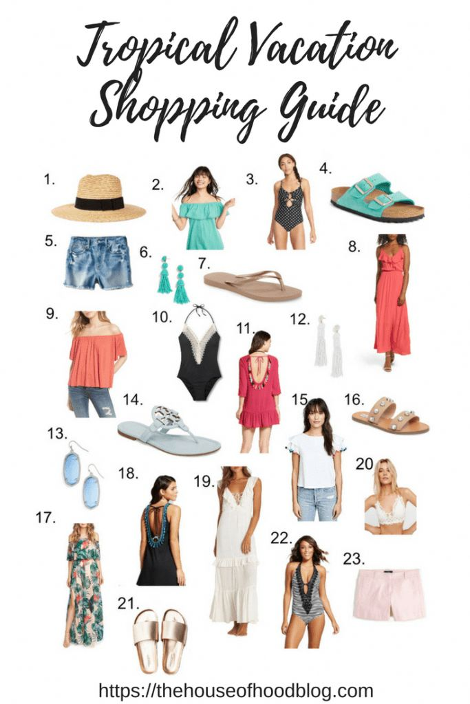 What To Shop For When You're Getting Ready For A Tropical
