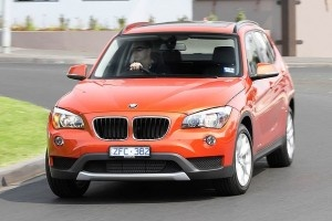 BMW shows off Upgraded X1