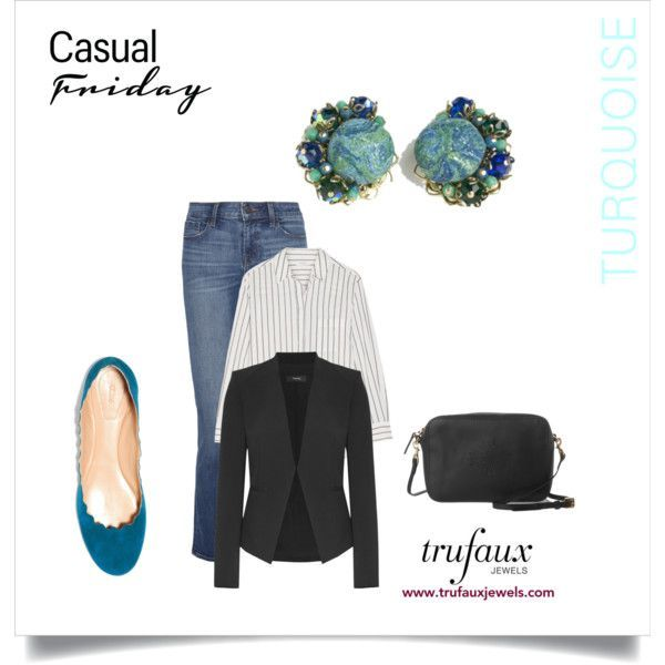 December Birthstone by trufauxjewels on Polyvore featuring Equipment, Theory, J Brand, Chloé and Mulberry