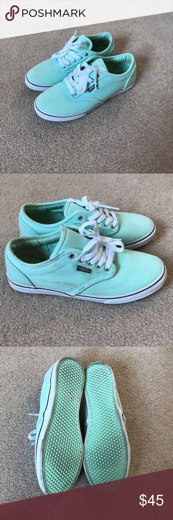 Mint vans Mint vans Vans Shoes Sneakers