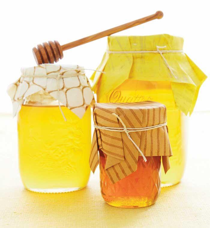 Honey Jar Favors | Amy Atlas #SweetDesigns: Amy Atlas, Honey Favors, Sweet Design, Parties Favors, Bees Parties, Honey Jars, New Books, Honey Bees, Books Yellow Parties