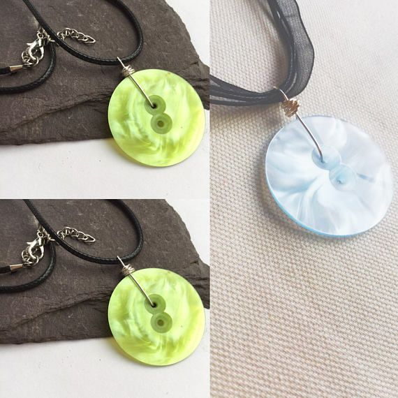 Blue Lime Statement necklaces uk blue necklace Necklaces for