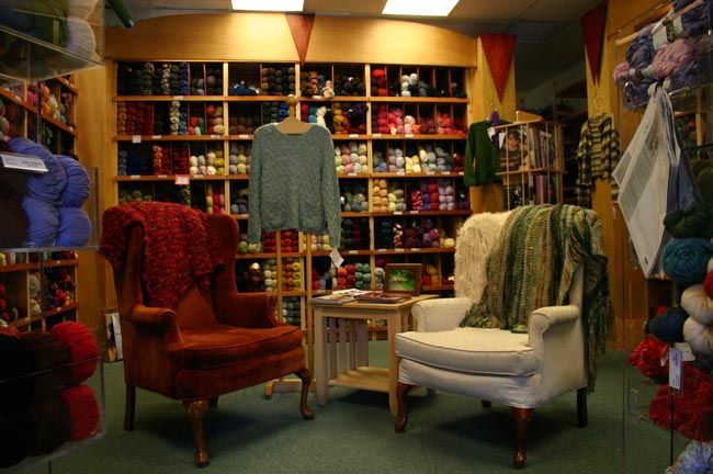 Yarn Garden and sipperie coffee shop/knit shop