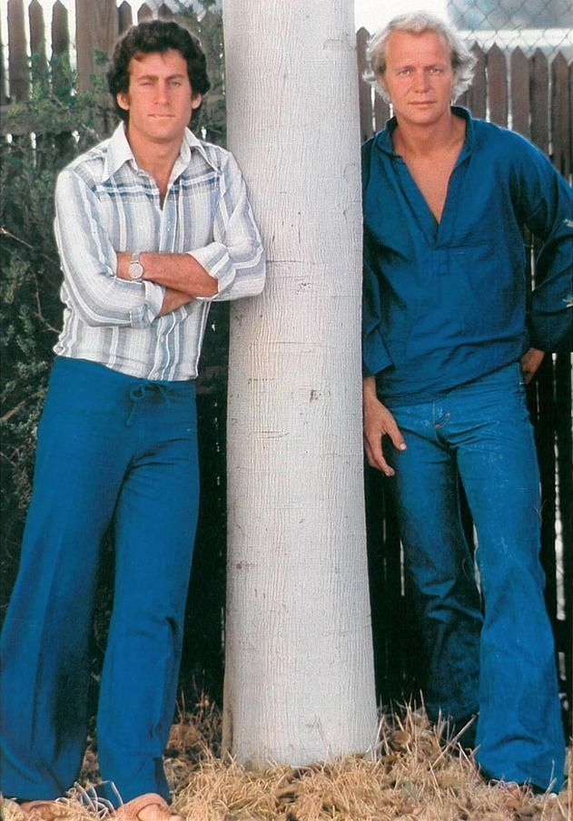 Paul Michael Glaser (Starsky) and David Soul (Hutch)