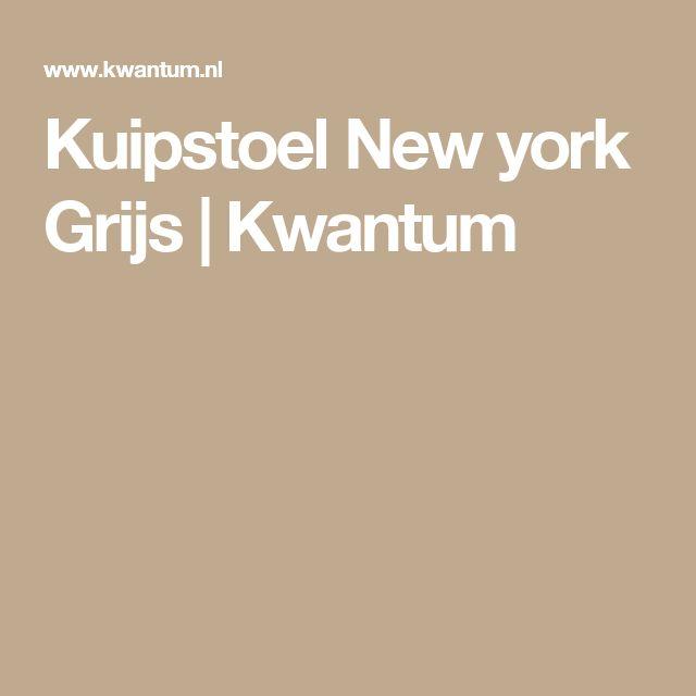 Kuipstoel New york Grijs | Kwantum