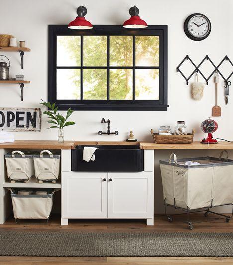Easy Updates For The Laundry Room | Rejuvenation