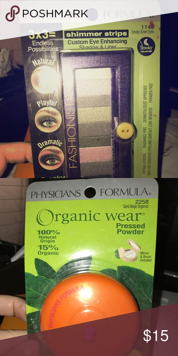 Never opened eyeshadow and foundation Never opened physicians formula eyeshadow and foundation Physicians Formula Makeup Eyeshadow