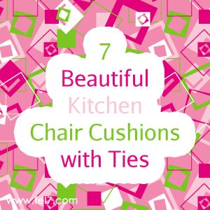 Kitchen Chair Cusions 30 best kitchen chair cushions with ties images on pinterest